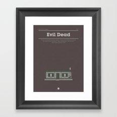 Horror Film Houses 03 Framed Art Print
