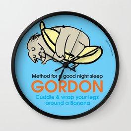 Gordon Yoga Wall Clock