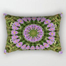 Aster Mandala Rectangular Pillow