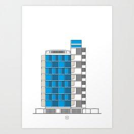Facultad de Arquitectura y Urbanismo (FAU) Art Print