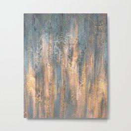 Waterfall - Original Art Metal Print