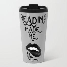 Reading made Me Travel Mug