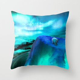 To The North Throw Pillow