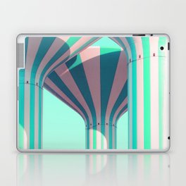 Teal Towers Laptop & iPad Skin
