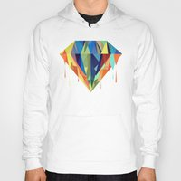 diamond Hoodies featuring Diamond by By Nordic