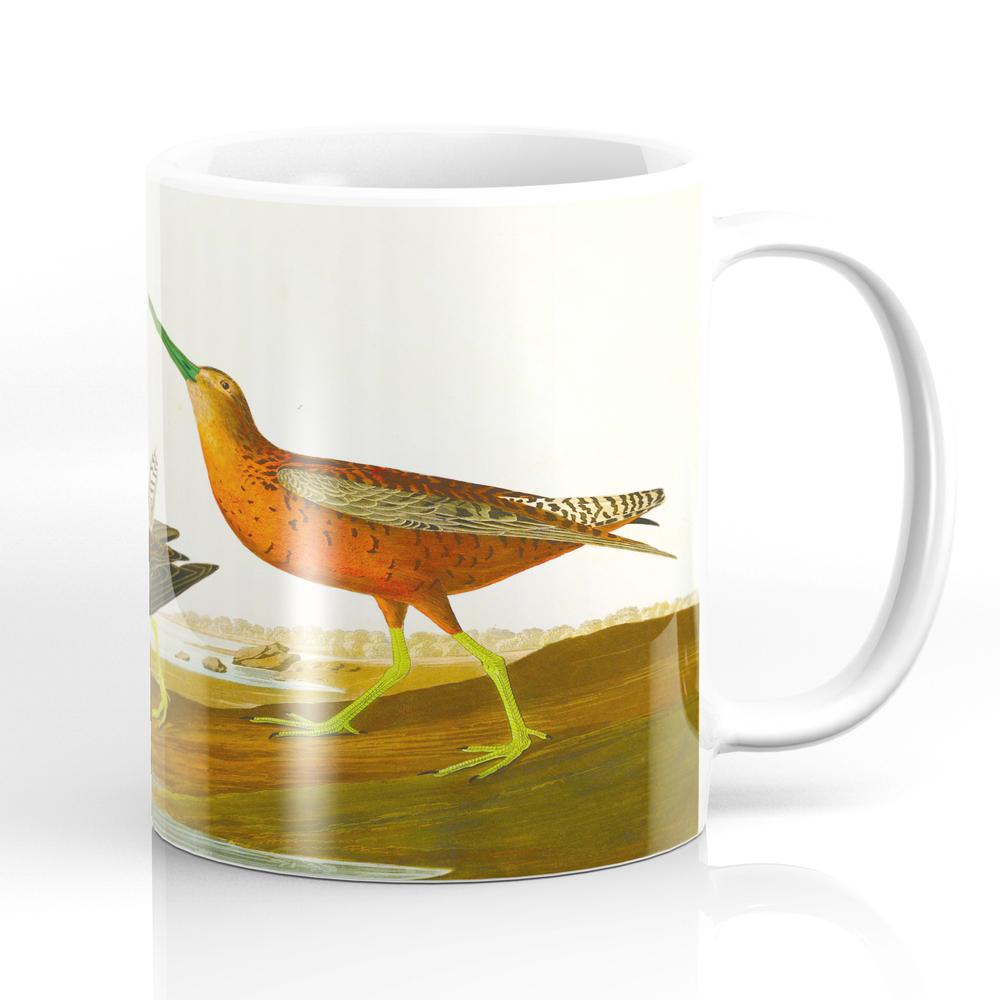 Red-Breasted Snipe Bird Mug by enshape (MUG6426545) photo