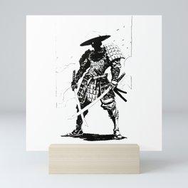 Samurai Sword Mini Art Print