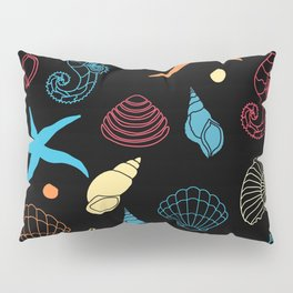 Seahorse Sea Shell Party Pillow Sham
