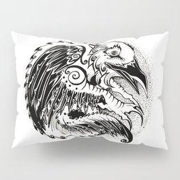 Crow Sun Pillow Sham