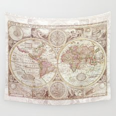An Accurate Map Wall Tapestry
