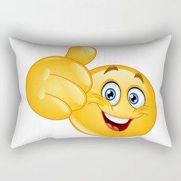 Thumb up Emoji Rectangular Pillow