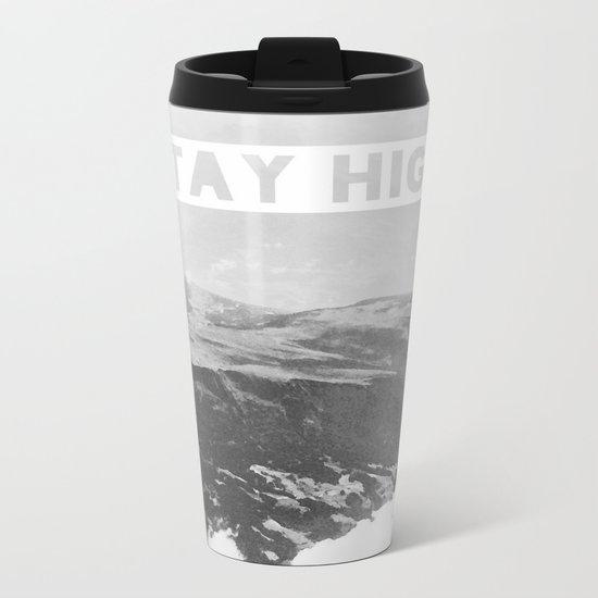 Stay High II Metal Travel Mug
