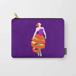 Orange peel ballerina dance Carry-All Pouch