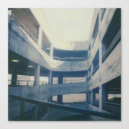 Polaroid lovers ~architecture Dundee Canvas Print