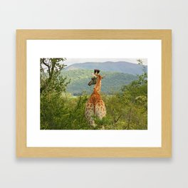southafrica ... waiting for you Framed Art Print