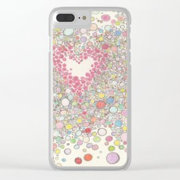 Love Intoxication Clear iPhone Case