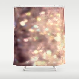 Glitters in your Heart  - JUSTART ©, digital art. Shower Curtain