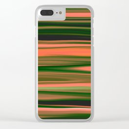 Desert Sands Clear iPhone Case