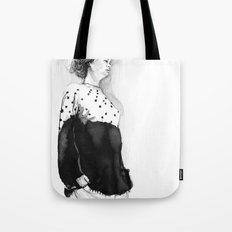 Fashion Illustration – Hana Cha S/S 2013 Tote Bag