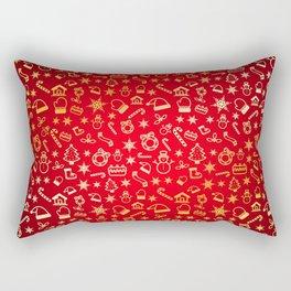 XmaS Pattern Rectangular Pillow