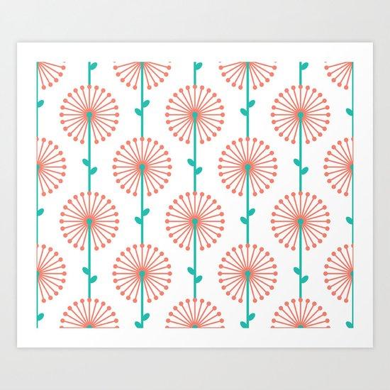 Pink Lehua Art Print