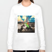 parrot Long Sleeve T-shirts featuring Parrot by Cs025