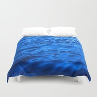 oasis Duvet Covers featuring Oasis by Atomic Kitty Photography