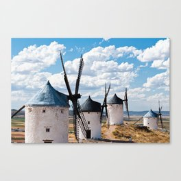 Windmill Spain  Don Quixote Canvas Print