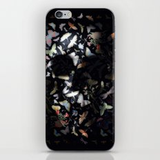 Butterfly And Skull iPhone & iPod Skin