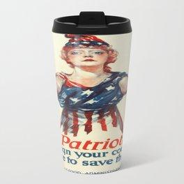 Vintage poster - Be a Ship's Officer Travel Mug