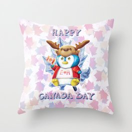 Canada Day 2019 - Eh - Text Throw Pillow