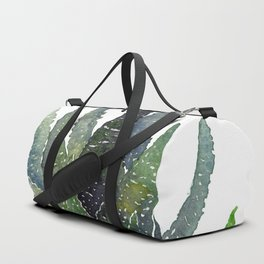 Succulent by the window Duffle Bag