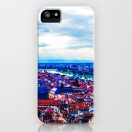 Overlooking Heidelberg iPhone Case