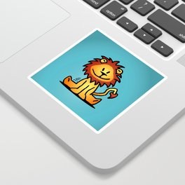 Cute little lion Sticker