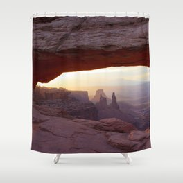 Through the Eye Shower Curtain