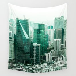 The Emerald City Wall Tapestry