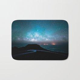 night sky Bath Mat