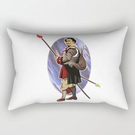 Painter Knights - Dalì Rectangular Pillow