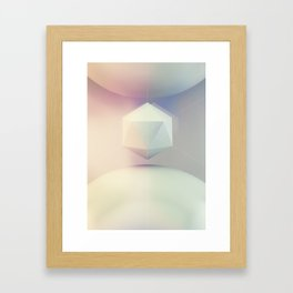 Icosahedron BETA Framed Art Print