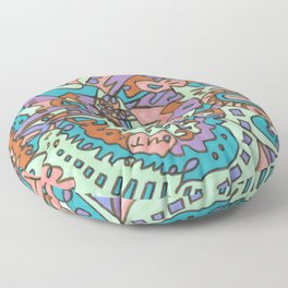 Tear My Heart Out (Orchid) Floor Pillow