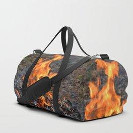 frozen fire Duffle Bag