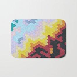 Nebula Hex Bath Mat