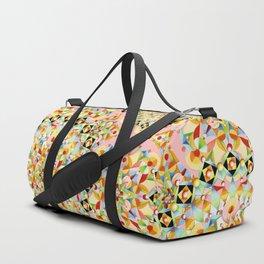 Pink Carousel Mandalas Duffle Bag