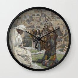 James Tissot - Jesus Wept Wall Clock