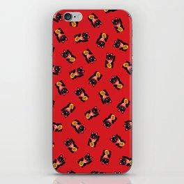 Lucky Black Cat iPhone Skin