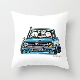 Crazy Car Art 0144 Throw Pillow