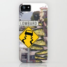 Lombard Street - San Francisco iPhone Case