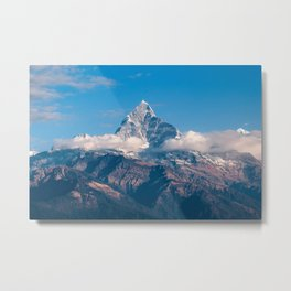 Fishtail Mountain   Mountain Climbing Metal Print