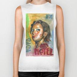 AHS Hotel-LadyGaga as Young Elizabeth Biker Tank
