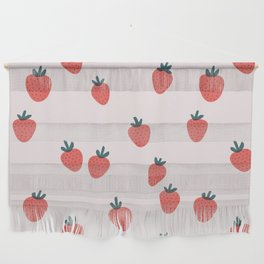 Strawberries Wall Hanging